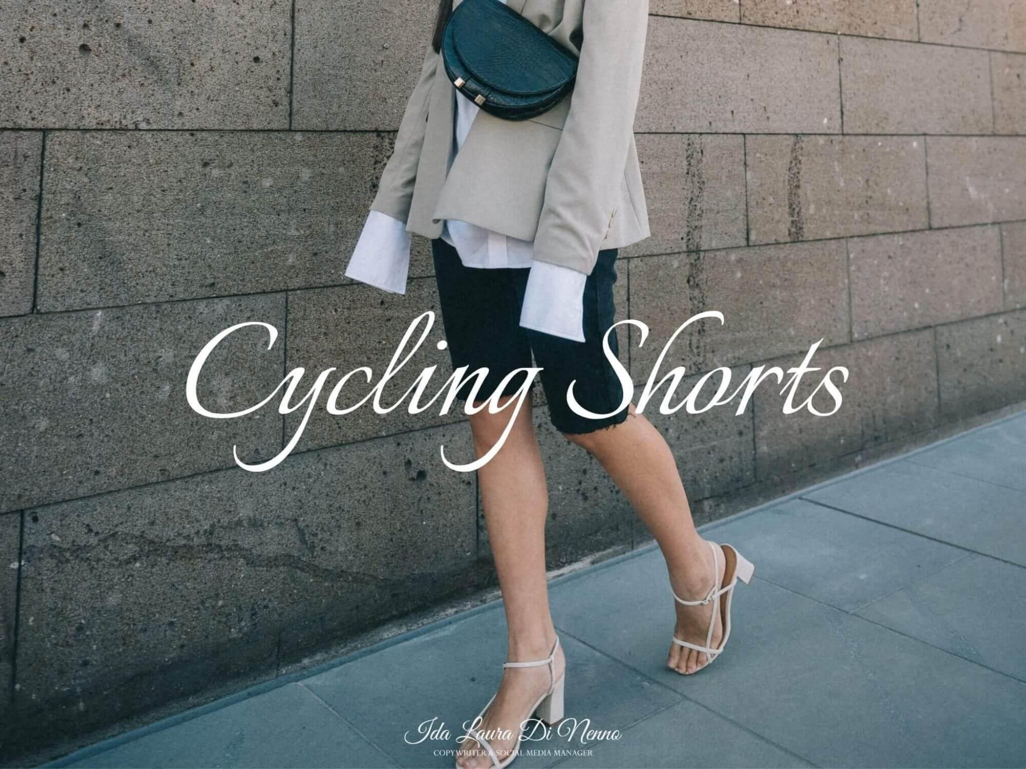 Cycling Shorts: un ritorno agli anni '90