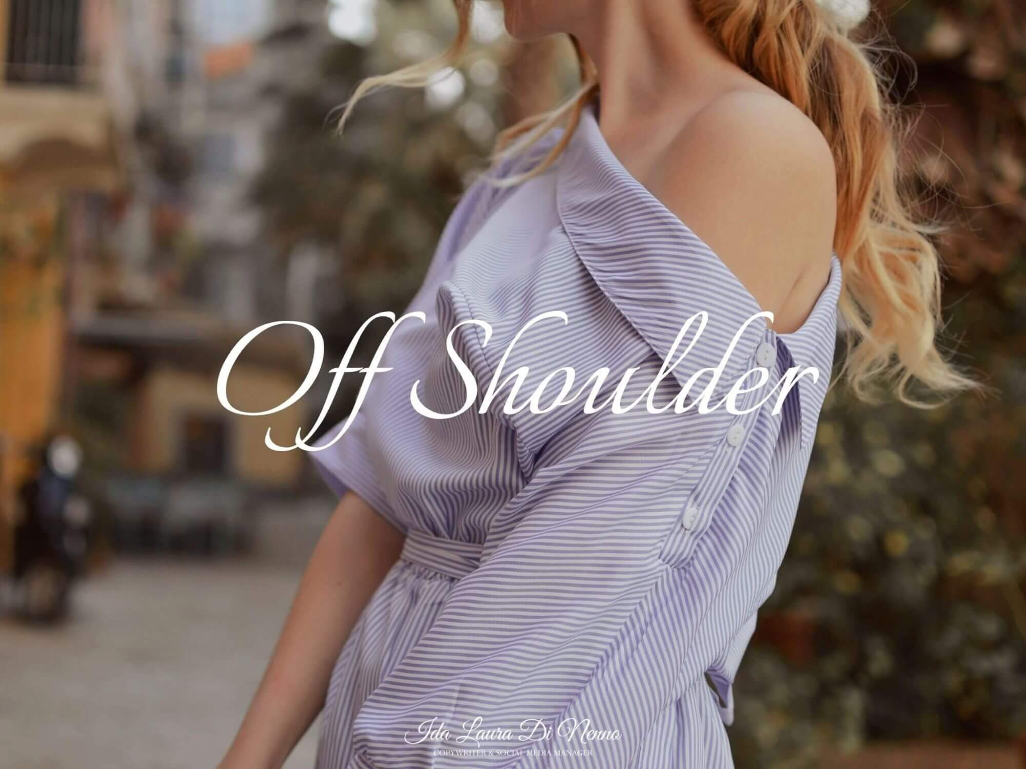 Off Shoulder: metti in mostra le spalle!
