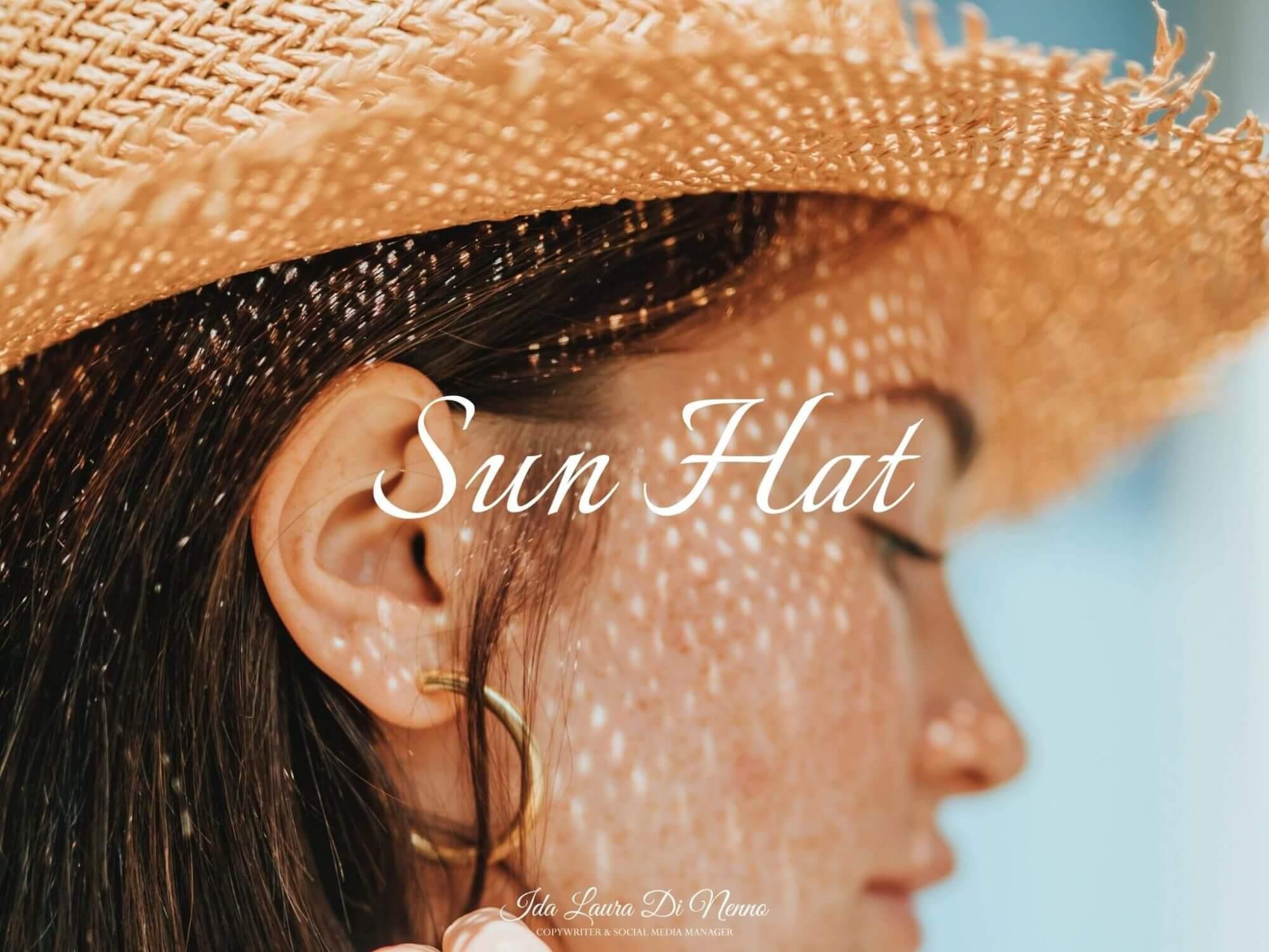 Sun Hat: il cappello di paglia Country-Beach