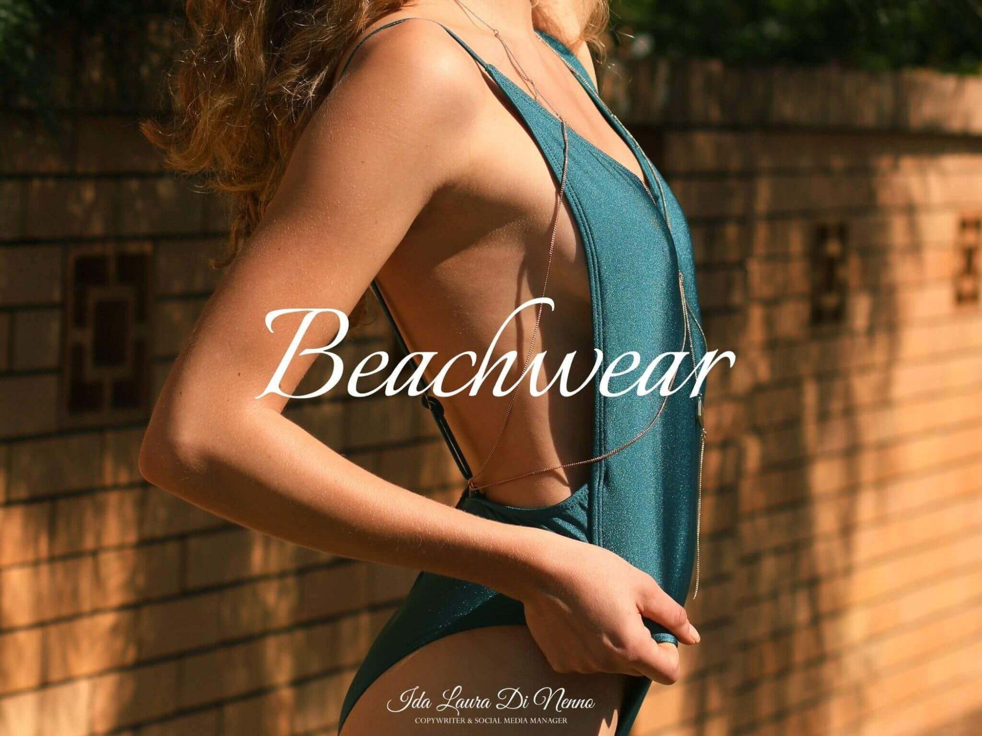 Beachwear: eleganza in riva al mare