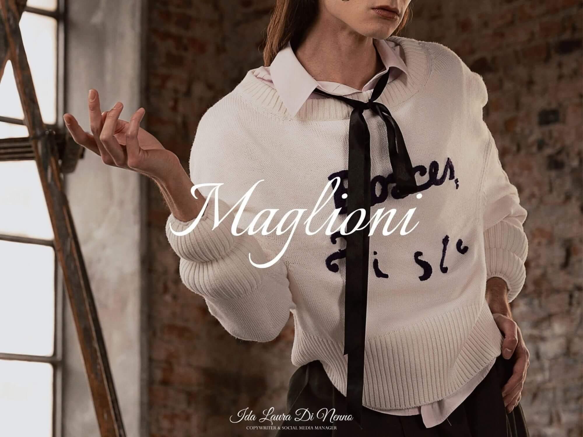 Maglioni: un caldo abbraccio di tendenza